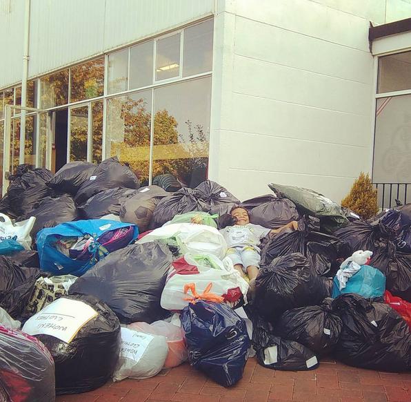 Collecting for Calais