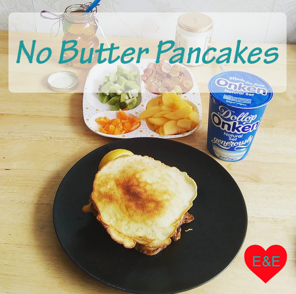 No Butter Homemade Pancakes