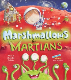 Book Interview Review #20: Marshmallows for Martians by Adam & Charlotte Guillain