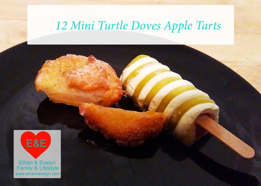 12 Mini Turtle Doves Apple Tarts