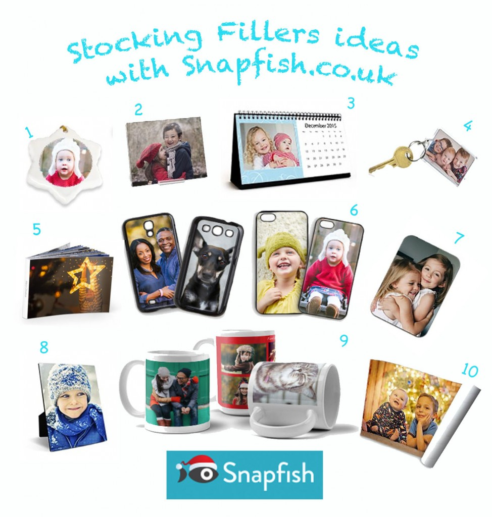 10 Stocking Fillers ideas with Snapfish.co.uk