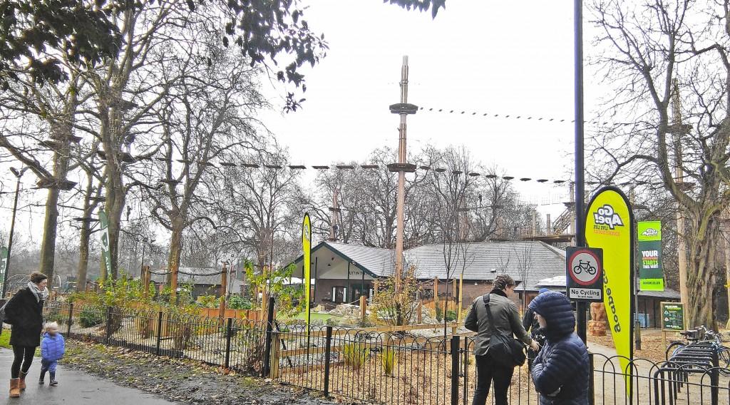 Go Ape! Battersea Park Review