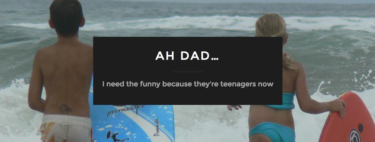 Ah Dad...