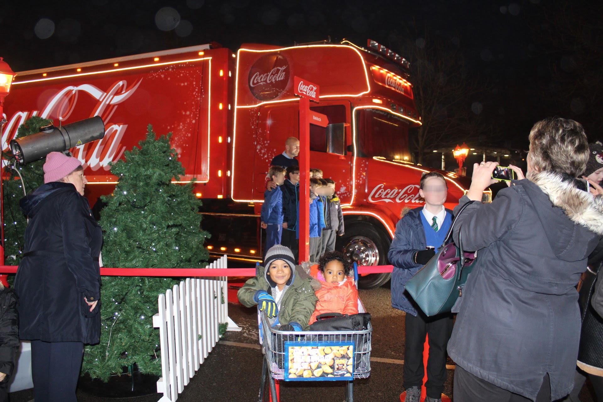 Baldock CocaCola Christmas Truck Tour 2016