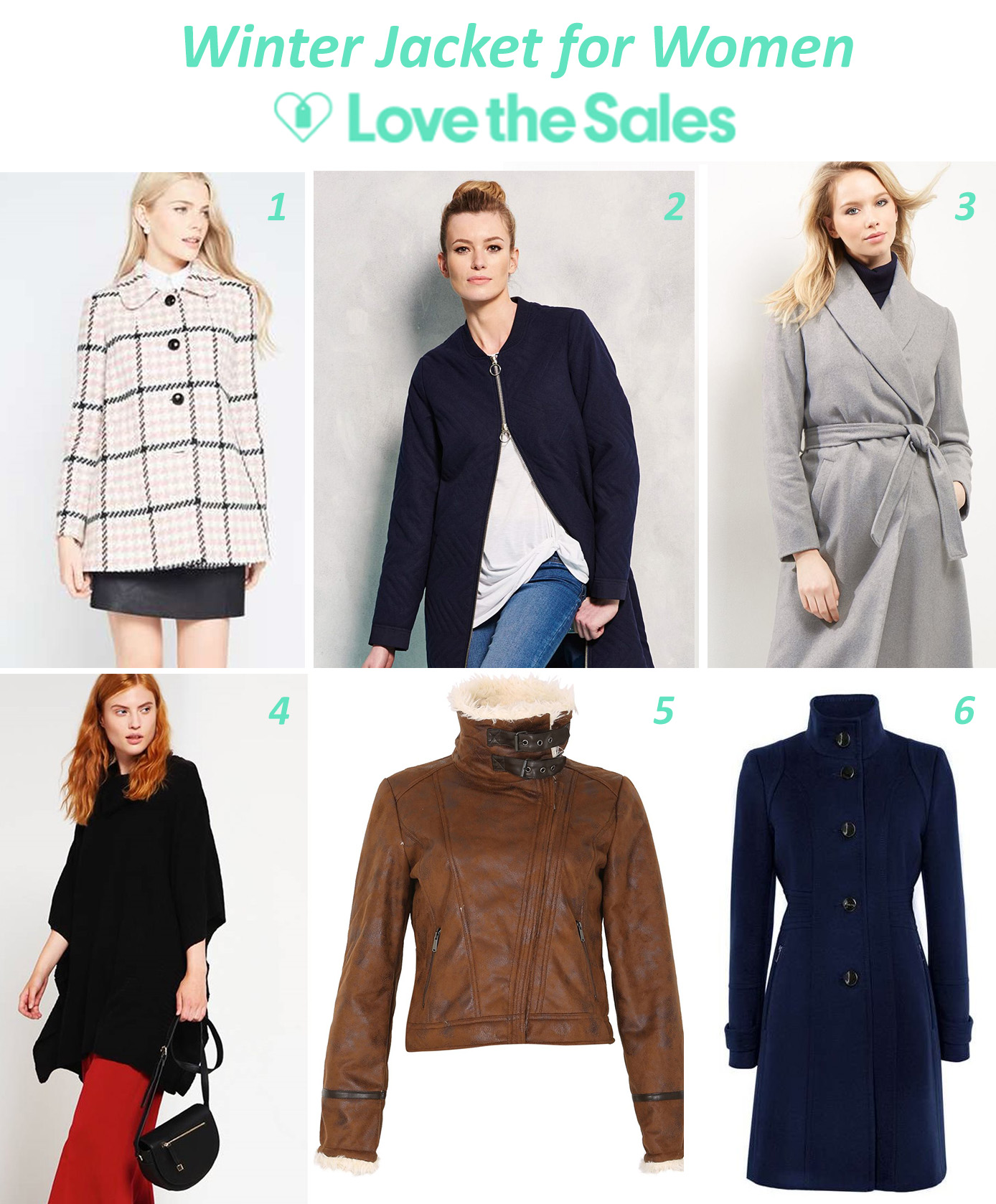 Winter Jacket for Women from Love the Sales