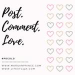 Post, Comment, Love #PoCoLo