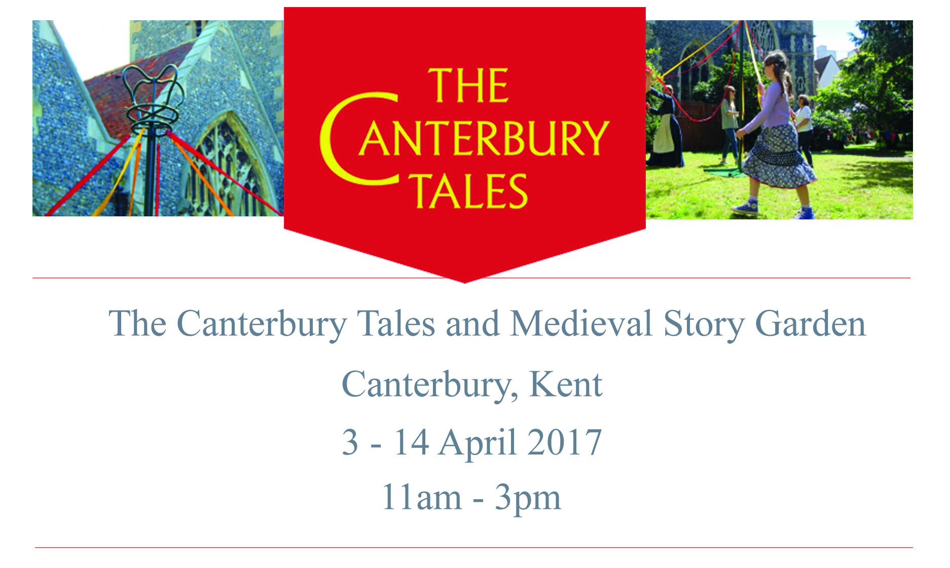 We Are Official Canterbury Tales Bloggers 2017!