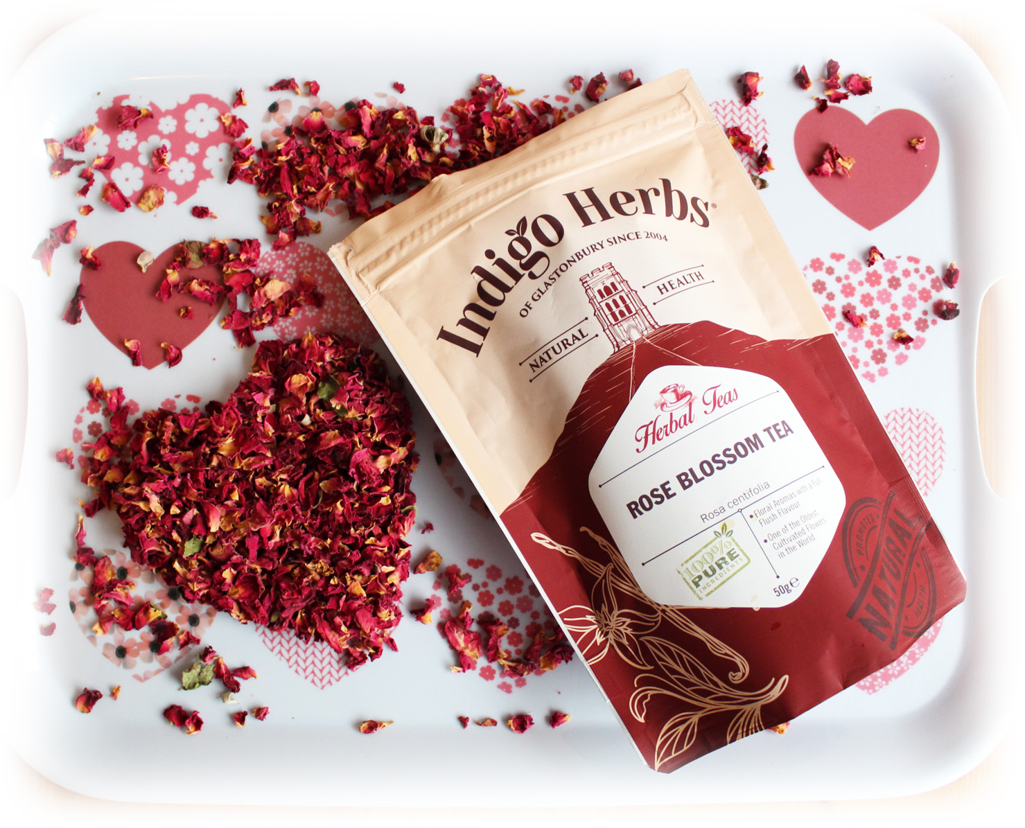 Happy International Woman's Day with Indigo Herbs Rose Blossom Tea | Review & Giveaway