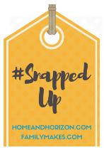 #SnappedUp