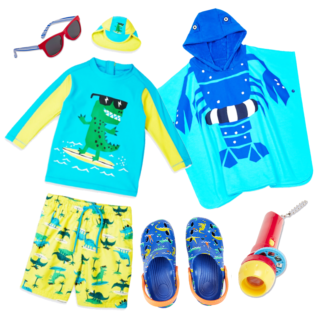 My Boy's M&S BFF Beach Wear