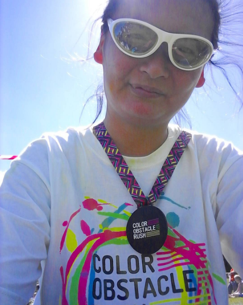 We Did It! The Color Obstacle Rush 5K!