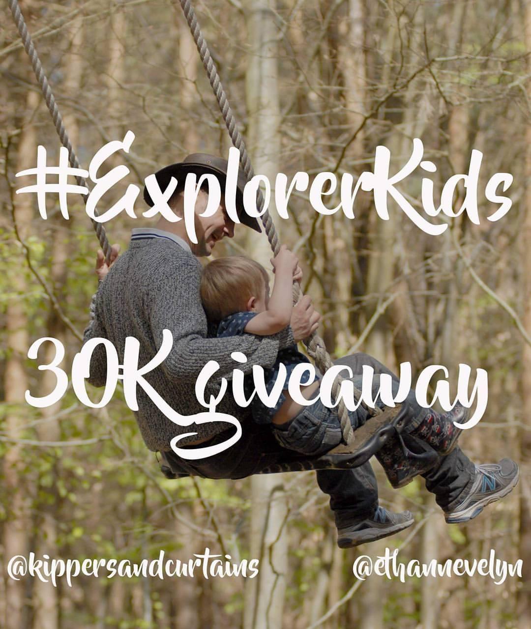 #ExplorerKids 30K