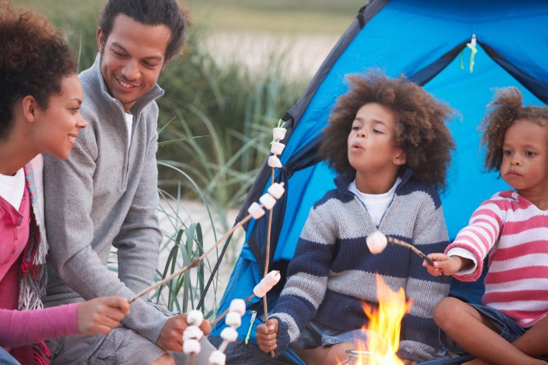 Eating Outdoor Tips For A More Memorable Family First Camping Trip