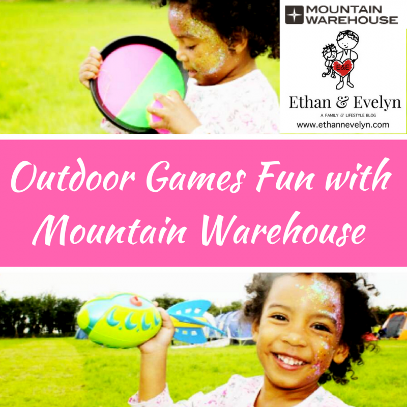 Outdoor Games Fun with Mountain Warehouse