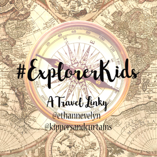 The #ExplorerKids Linky Badge