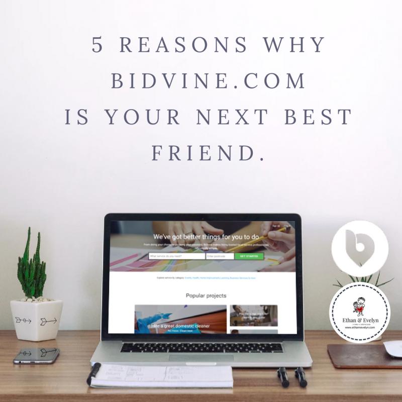 5 Reasons Why Bidvine.com Will Be Your Next Best Friend.