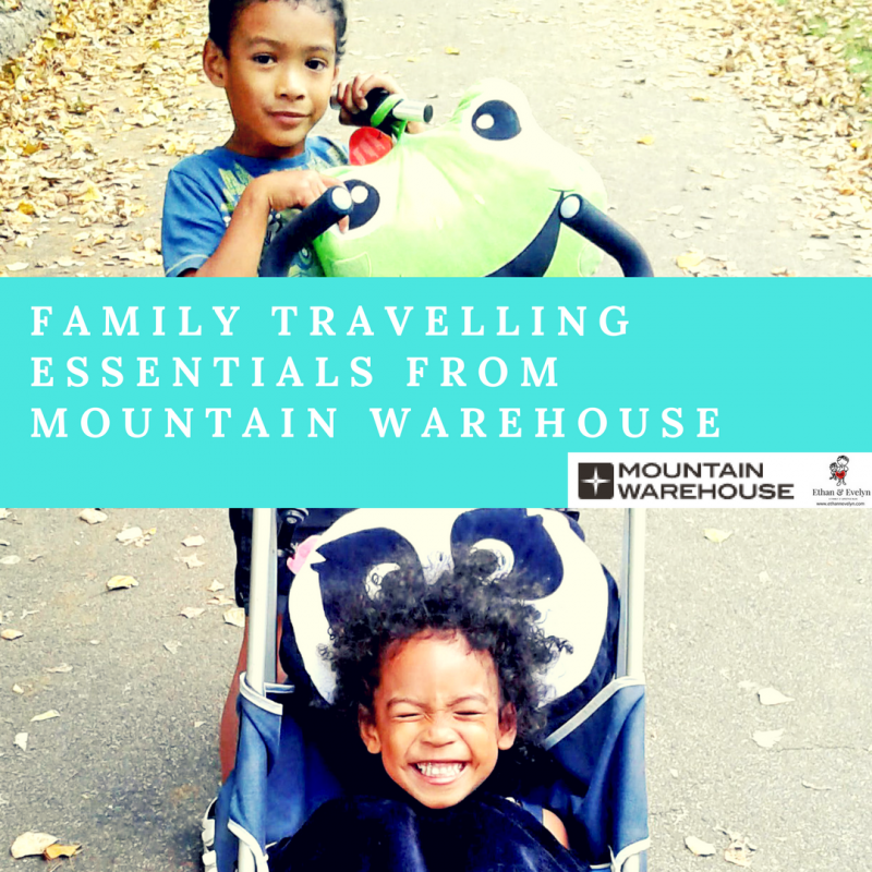 Family Travelling Essentials fromMountain Warehouse