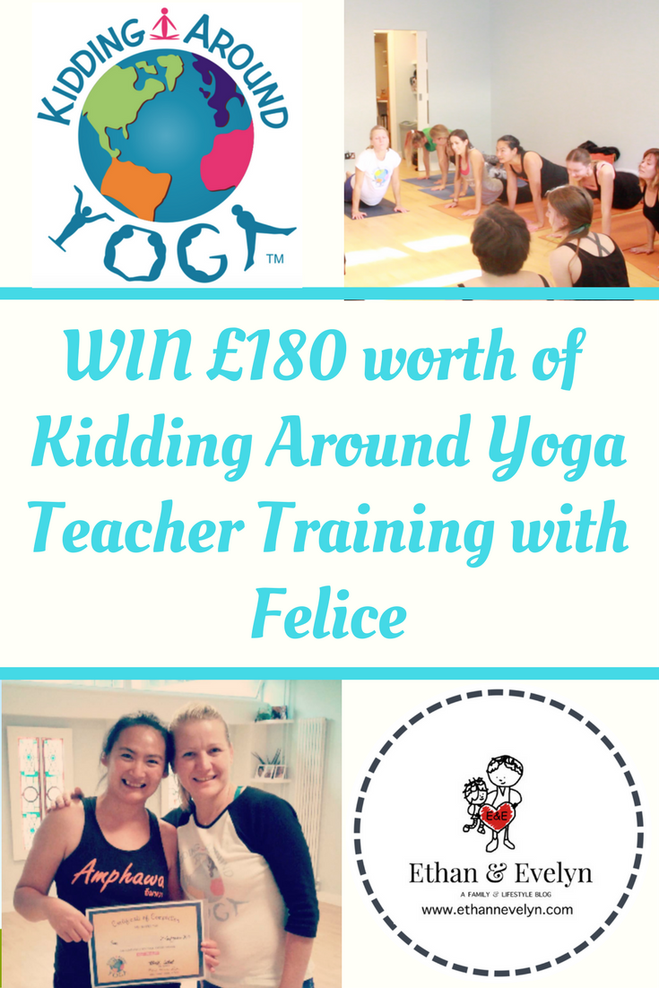 Kidding Around Yoga Teacher Training with Felice | Review & £180 GIVEAWAY!!