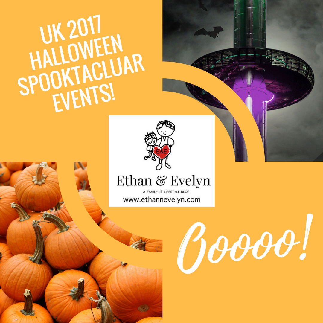 UK 2017 Halloween Spooktacluar Events!