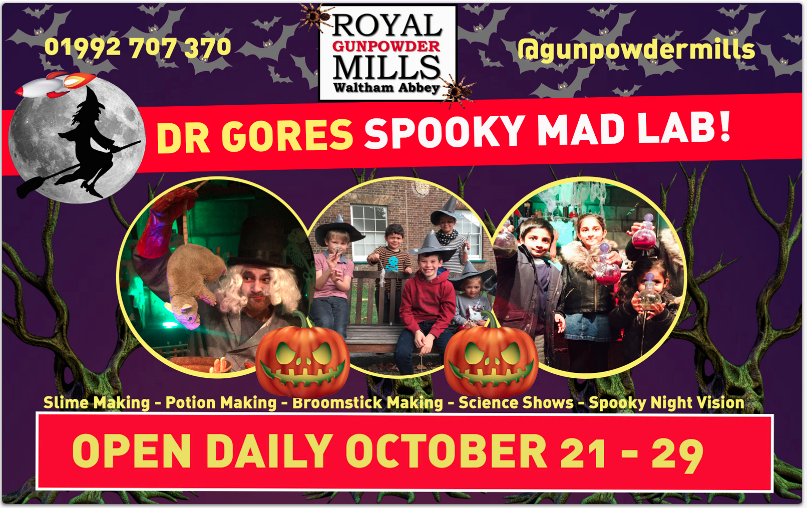 Halloween Events in Hertfordshire 2017
