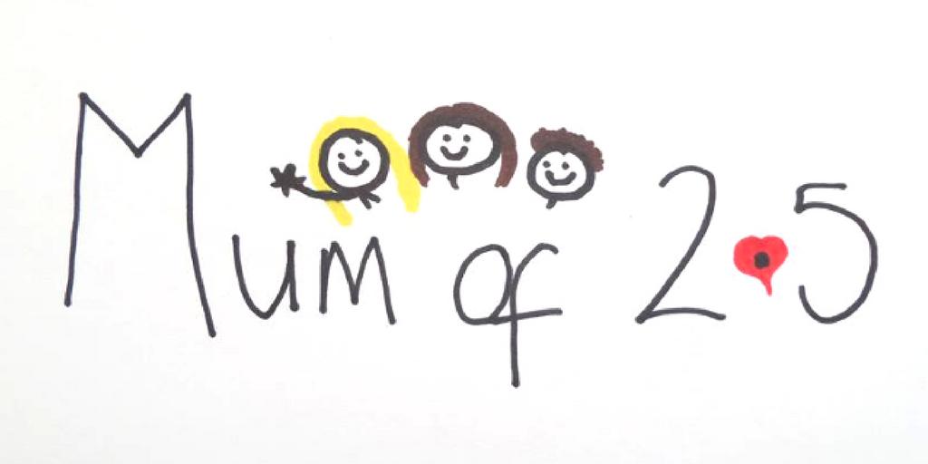 Mum of 2.5