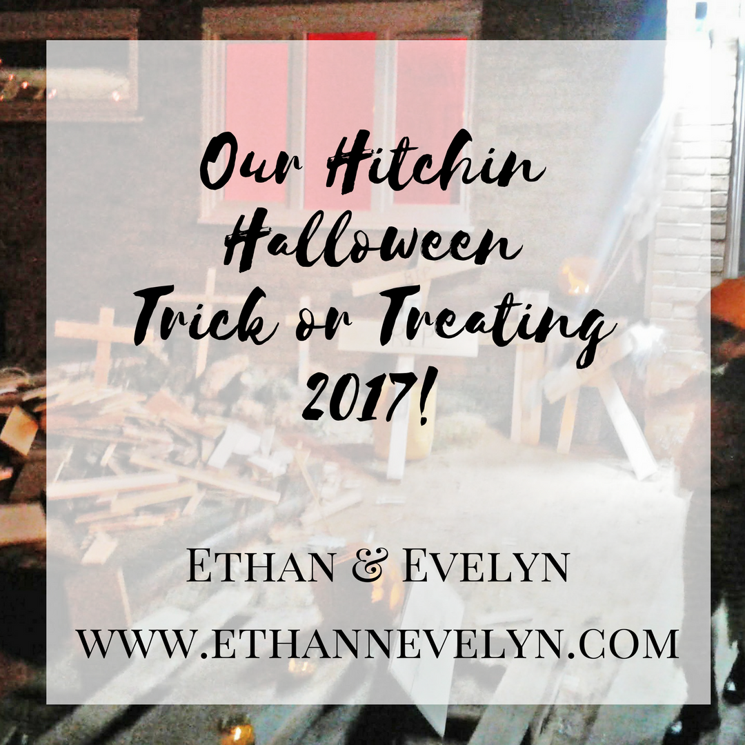 Our Hitchin Halloween Trick or Treating 2017!