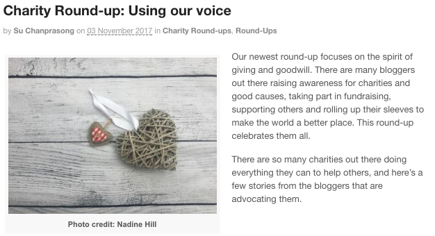 BritMums Charity Round-Up