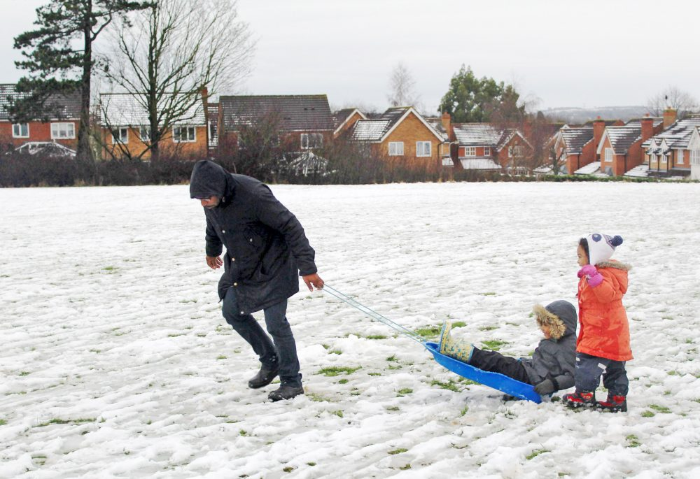 SNOW - SLOSH - SLEDGE