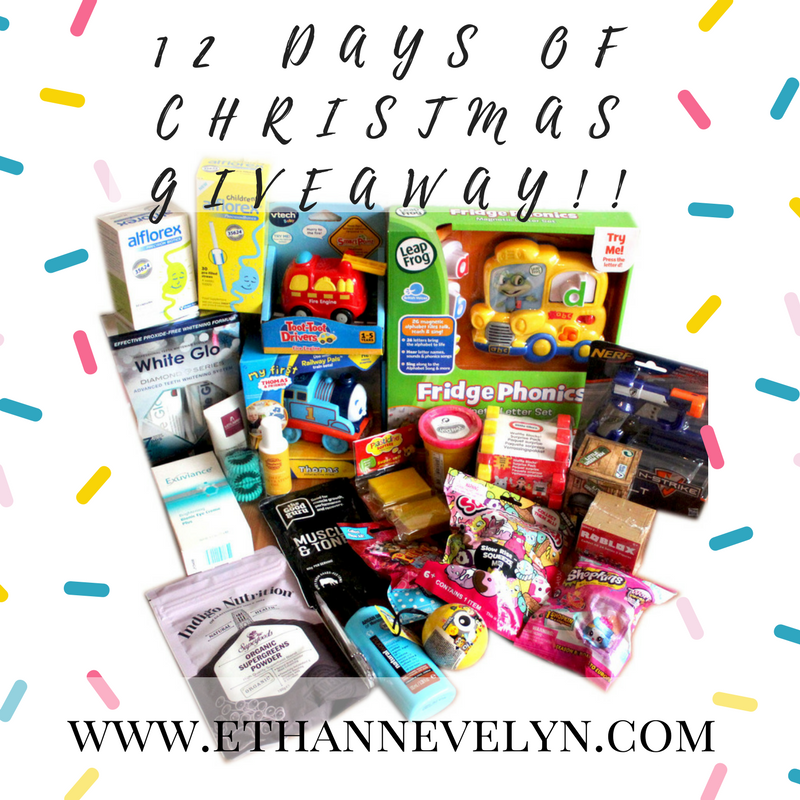 12 DAYS OF CHRISTMAS GIVEAWAY!!