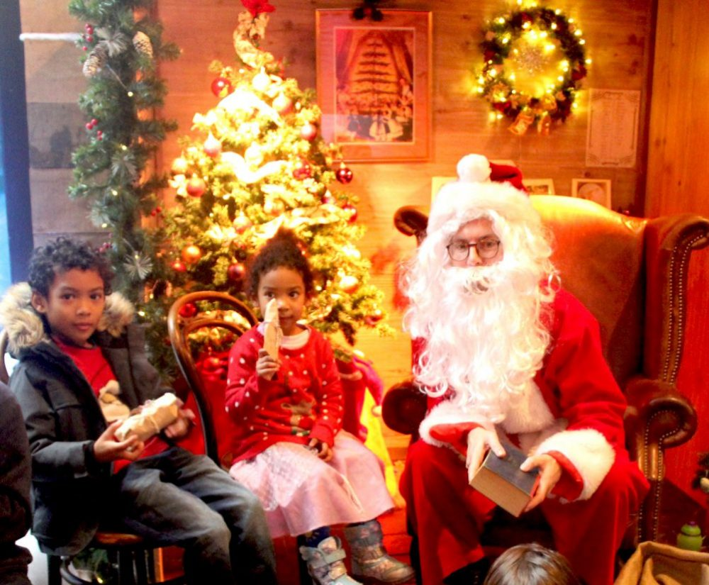 A Victorian Santa's Grotto Visit at Museum of London