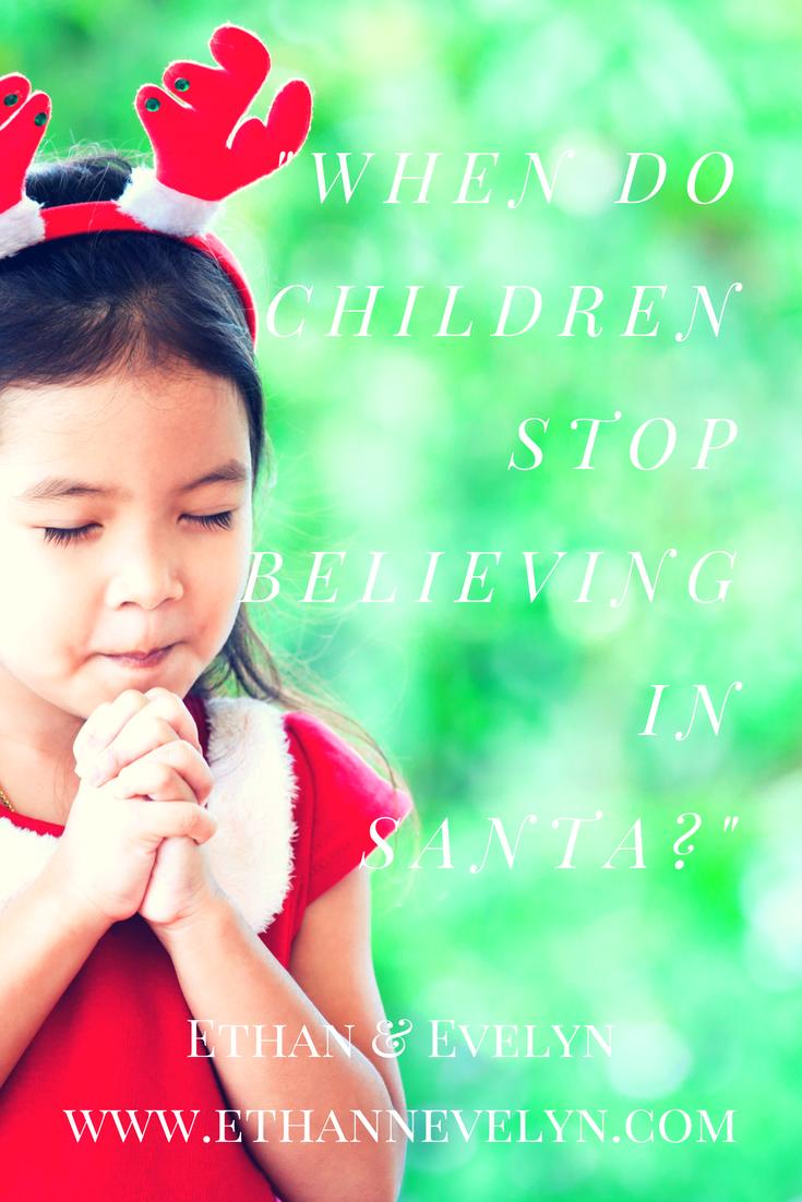 """""""When do children stop believing in Santa?"""""""