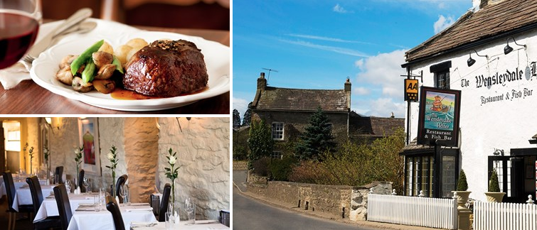 £39 – North Yorkshire: chateaubriand meal for 2, 49% Off
