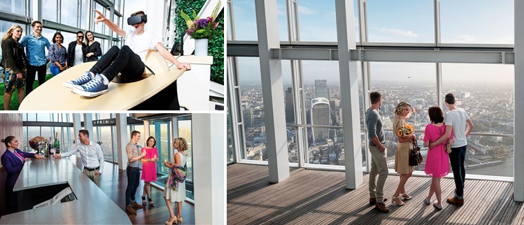 £20 – The View from The Shard: flexible ticket, save 22%