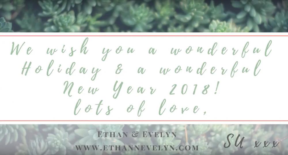 Wishing you a Wonderful Holiday & a Wonderful New Year 2018!
