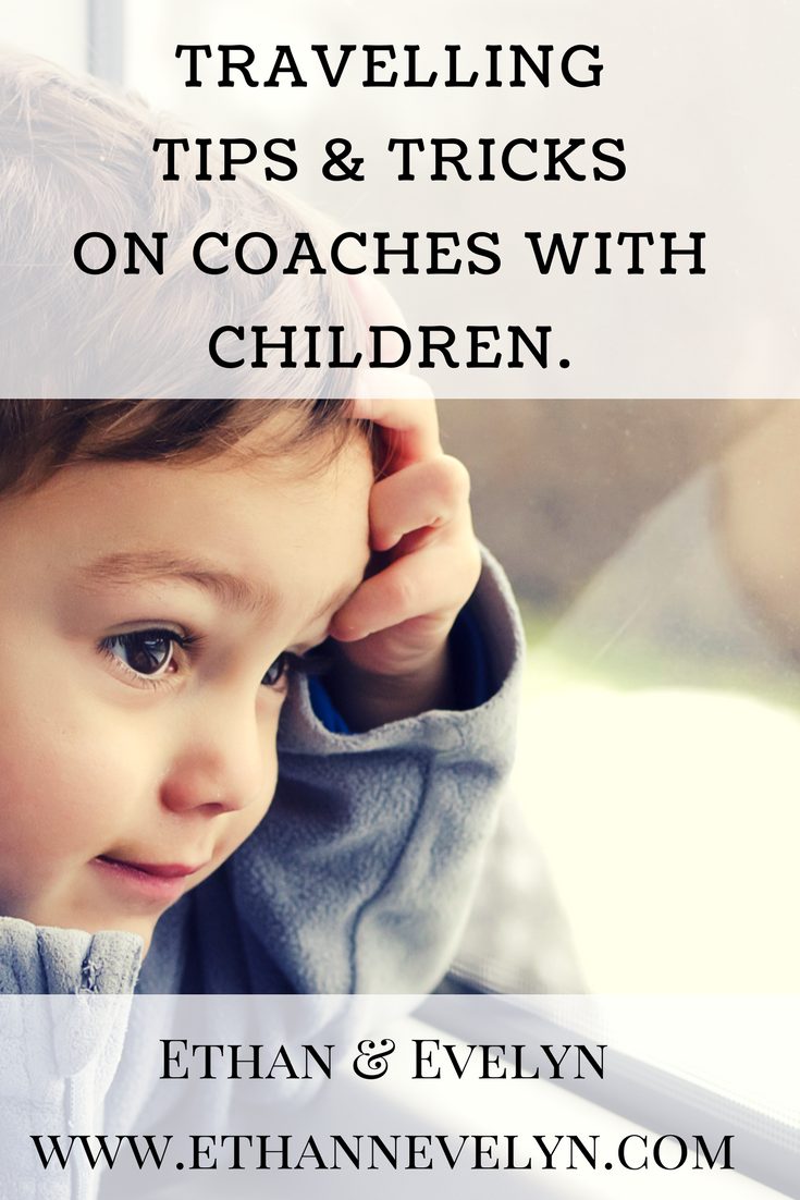 TRAVELLING TIPS & TRICKS ON COACHES WITH CHILDREN. & £30 VOUCHER GIVEAWAY!