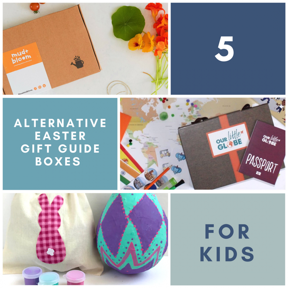 5 ALTERNATIVE EASTER GIFT GUIDE BOXES FOR KIDS