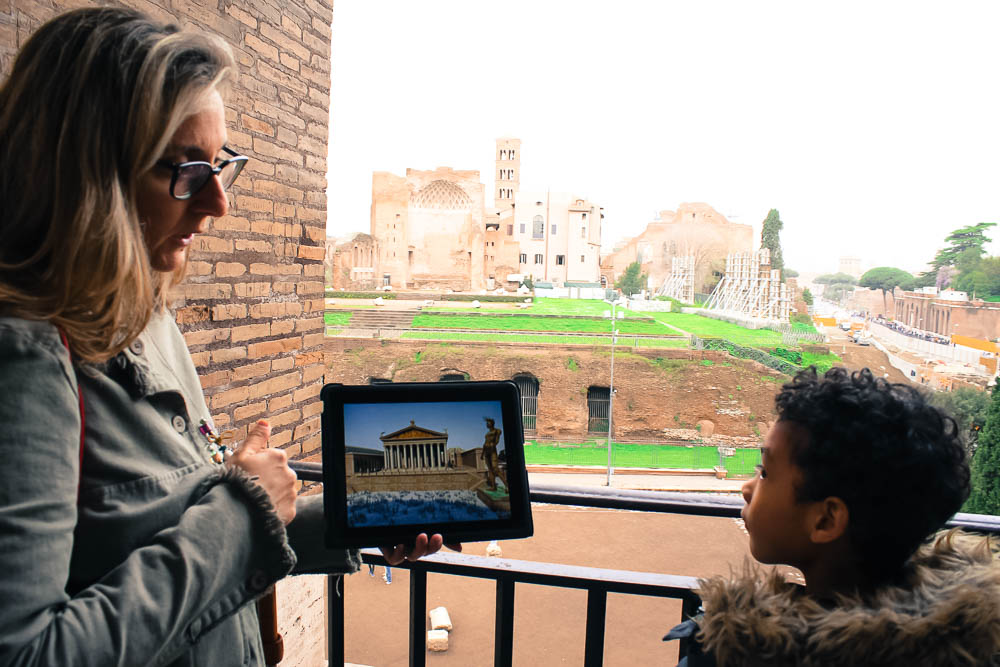 OVEROME COLOSSEUM FOR KIDS & FAMILIES PRIVATE TOUR REVIEW (+ Roman Forum + Palatine Hill)