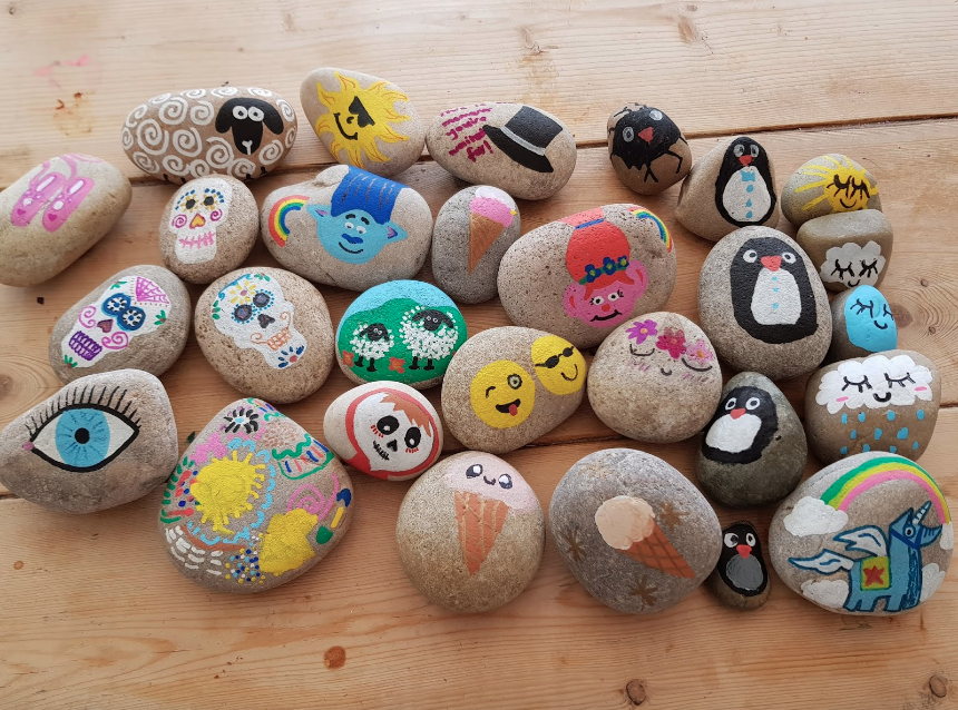 THE ROCKS! - The painted rocks explained.